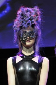 Hooker & Young Custom Punk Leather Mask
