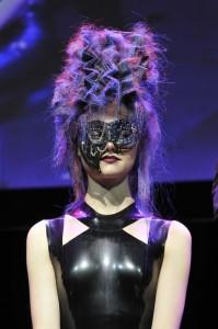 Hooker & Young Custom Punk Leather Mask