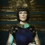 Custom headpiece - STYLIST Magazine
