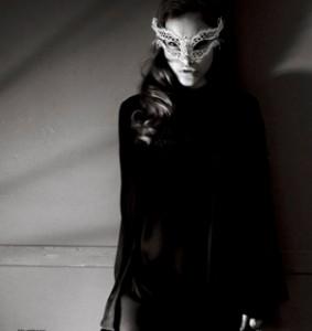 Elle UK- White Katherine Mask
