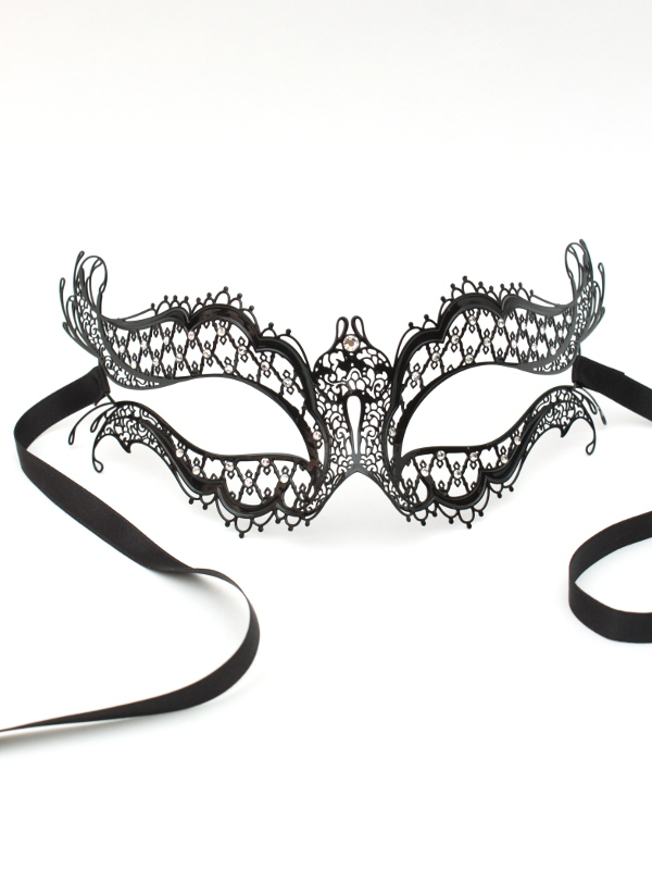 vampire diaries swarovski crystal genuine venetian metal filigree lace masquerade ball mask