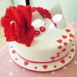 Valentines Mask & cake