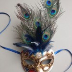79. mens venetian peacock mask