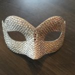 117. Ultimate Swarovski Crystal Petite Mask with unique shape