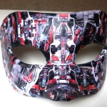 48. decoupage Ferrari mask