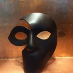 108. Custom Full Face Leather Mask