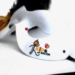 28. custom logo masks for events