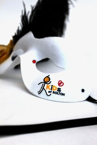 Kids of Bolton Charity Logo Mask