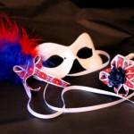 27. British flag masquerade mask