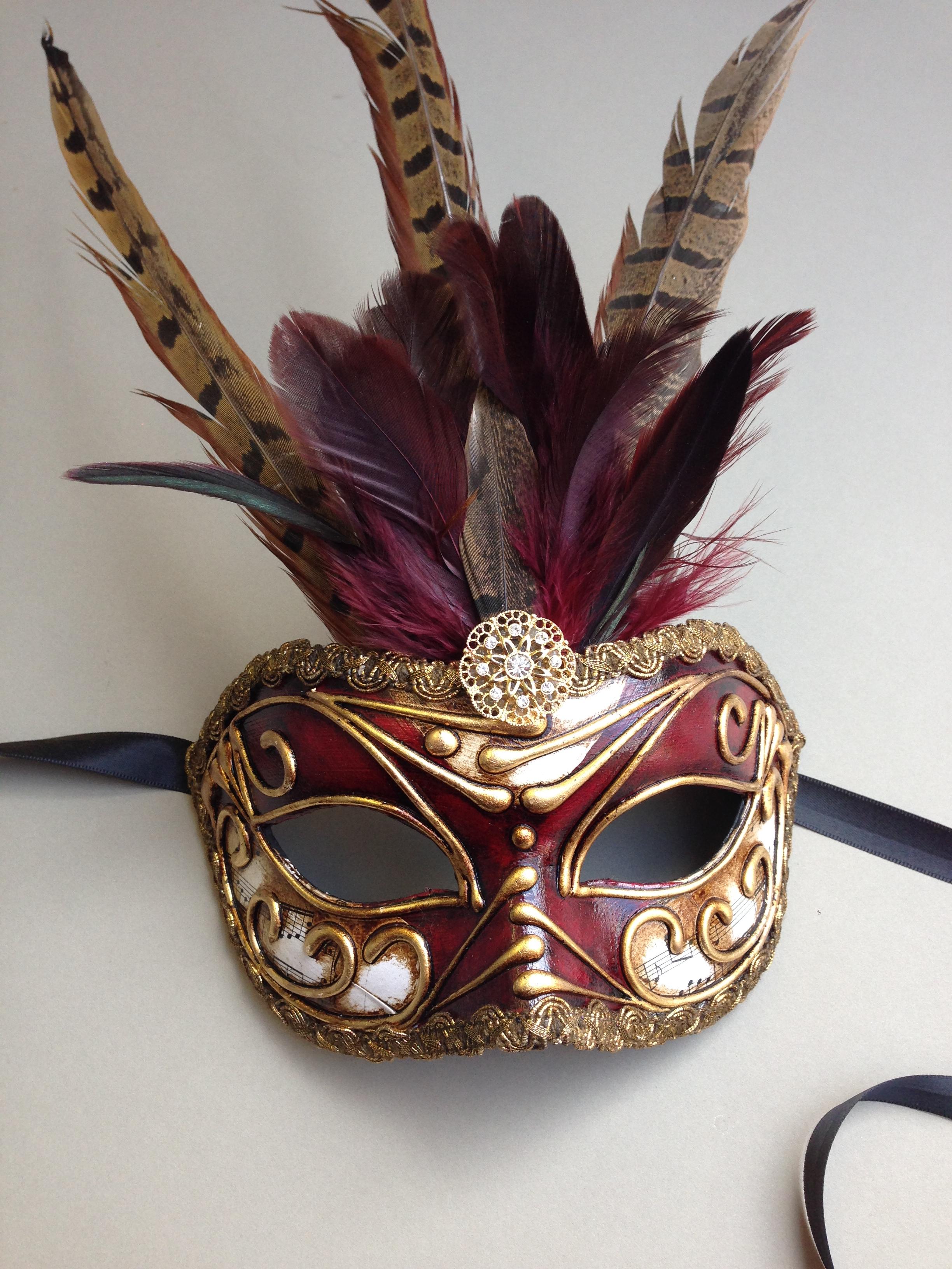 Custom Designed Masked Ball Masquerade Masks UK & Worldwide