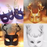 100. Leather Stag & Deer Masks