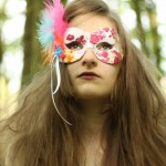 Multi-coloured Butterfly Masquerade Eye Mask