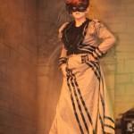 Custom Black Victorian Venetian Masquerade Mask