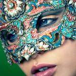 Embellised One of Kind Venetian Masquerade Mask