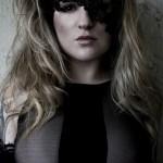 Custom Fashion Vogue Style Black One Eye Lace Masquerade Mask