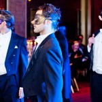 Prince's Valentines Ball Custom Venetian Masks for Men with Swarovski Crystals