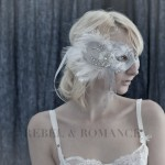 Romantic Bridal Masquerade Mask