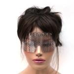 metal mesh masquerade mask