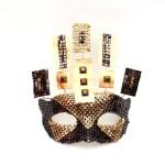 Pharoeh Egyptian Unique Masquerade Metal Mask