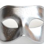 Men's Plain Masquerade Masks