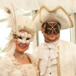 45. Couples Wedding Masks