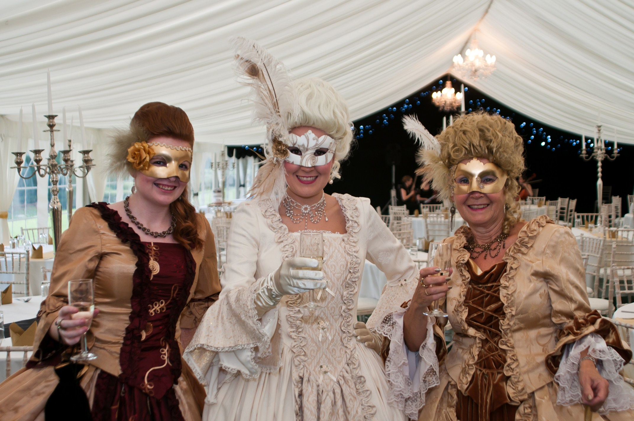An 18th Century Masked Costume Ball