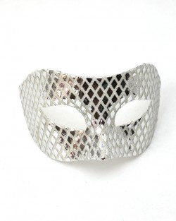 Mens Mirrored Venetian Mask
