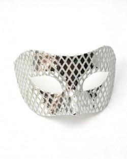 Mens Mirrored Venetian Mask