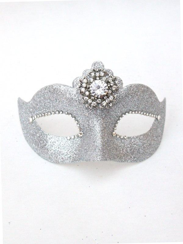 Luxury Petite Silver Crystal Venetian