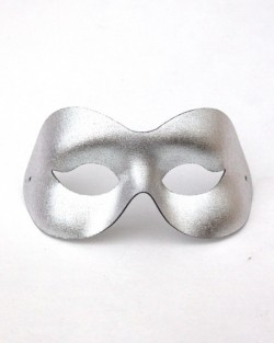 Plain Silver Eye Masquerade Mask