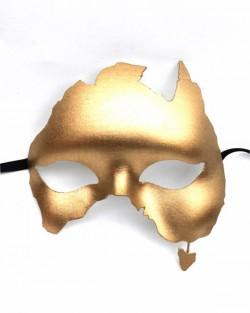 Australia Shaped Masquerade mask
