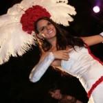 Headdress designed for Miss England 2010