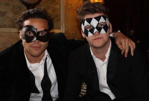 Made in Chelsea Andy in fashion stepped mask
