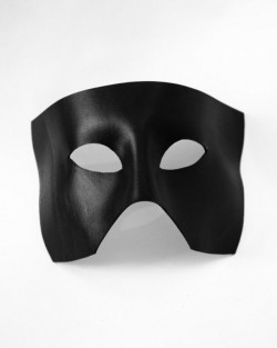 Haden deep leather mask, black f