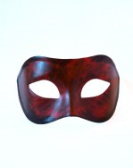 Red & Black Halloween Venetian Mask