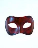Red & Black Halloween Venetian Mask