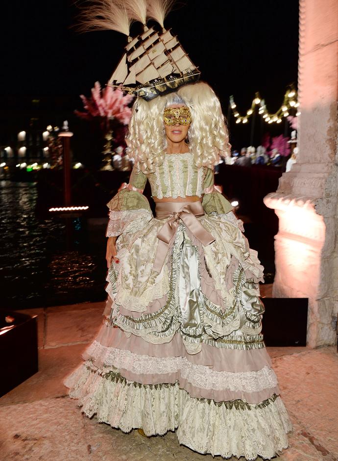 Dolce Amp Gabbanas Alta Moda Masked Ball 2013 Venice