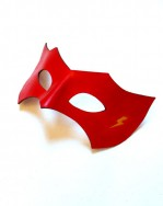Flash Red Yellow Lightening Bolt Superhero Masquerade Mask b