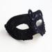 Men's Luxury Black Lace Venetian Mask 2c