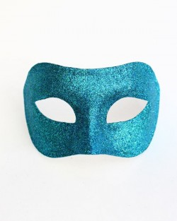 Men's Peacock Venetian Masquerade Mask