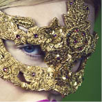One of a Kind Masquerade Masks