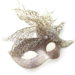 winter queen champagne gold glitter crystal masquerade mask 3