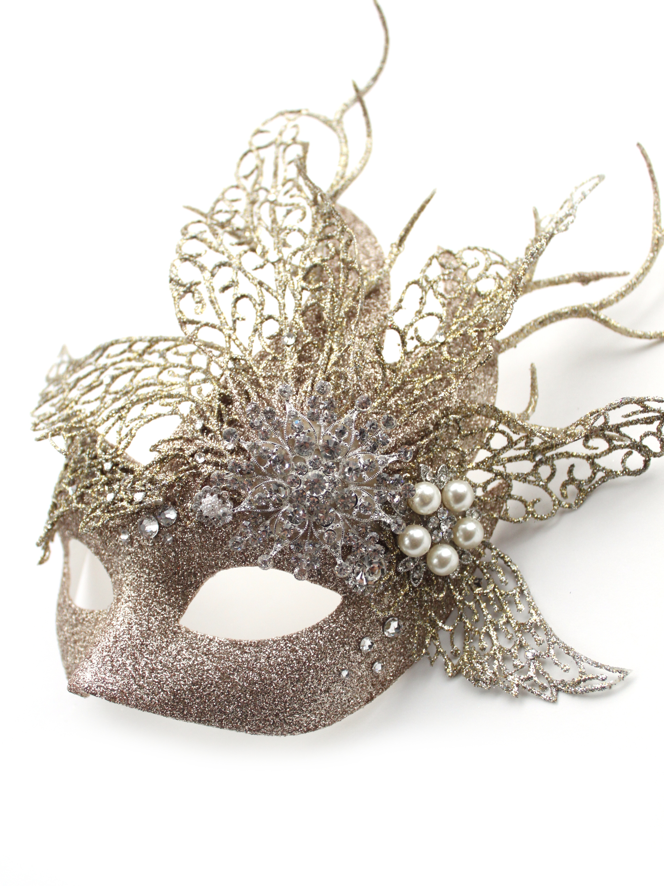luxury jewelled embellished venetian masquerade masks masque boutique
