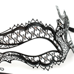 Metal Filigree Laser Cut Masks