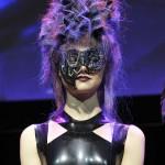 4. Custom Punk Leather Mask