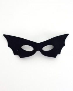 Women's Budget Black Bat Masquerade Eye Mask