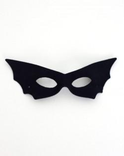 Women's Budget Black Bat Masquerade Eye Mask