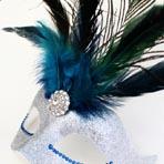 Feather Masquerade Masks
