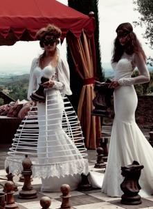 Black Lace Bridal Masks