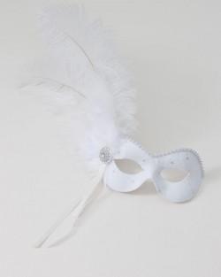ivory lace masquerade mask